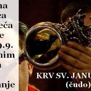 krv sv januarija