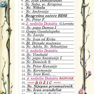 prosinac