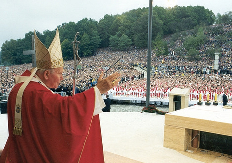 Papa-Ivan-Pavao-II.-u-Mariji-Bistrici