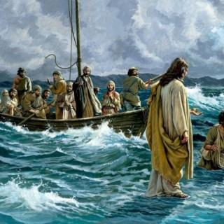 isus na vodi